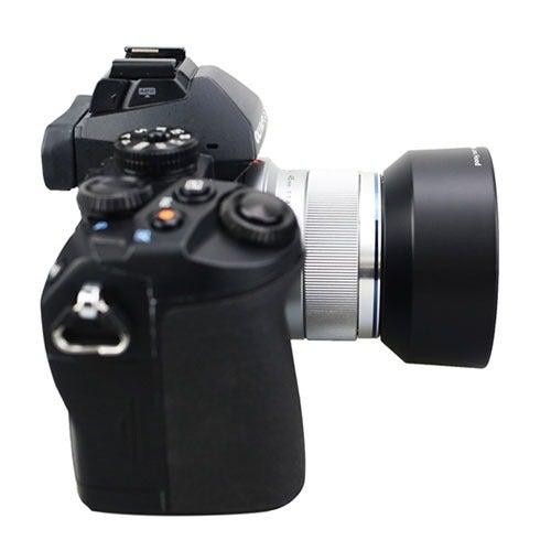 Professional Replacement Lens Hood LH-40B LH40B For Olympus Zuiko 45mm 1.8 Black