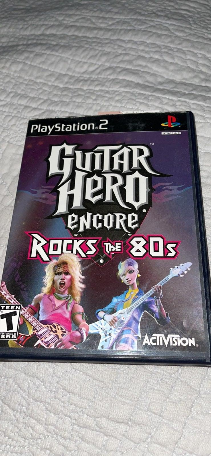 Guitar Hero Encore: Rocks the 80s on Pla