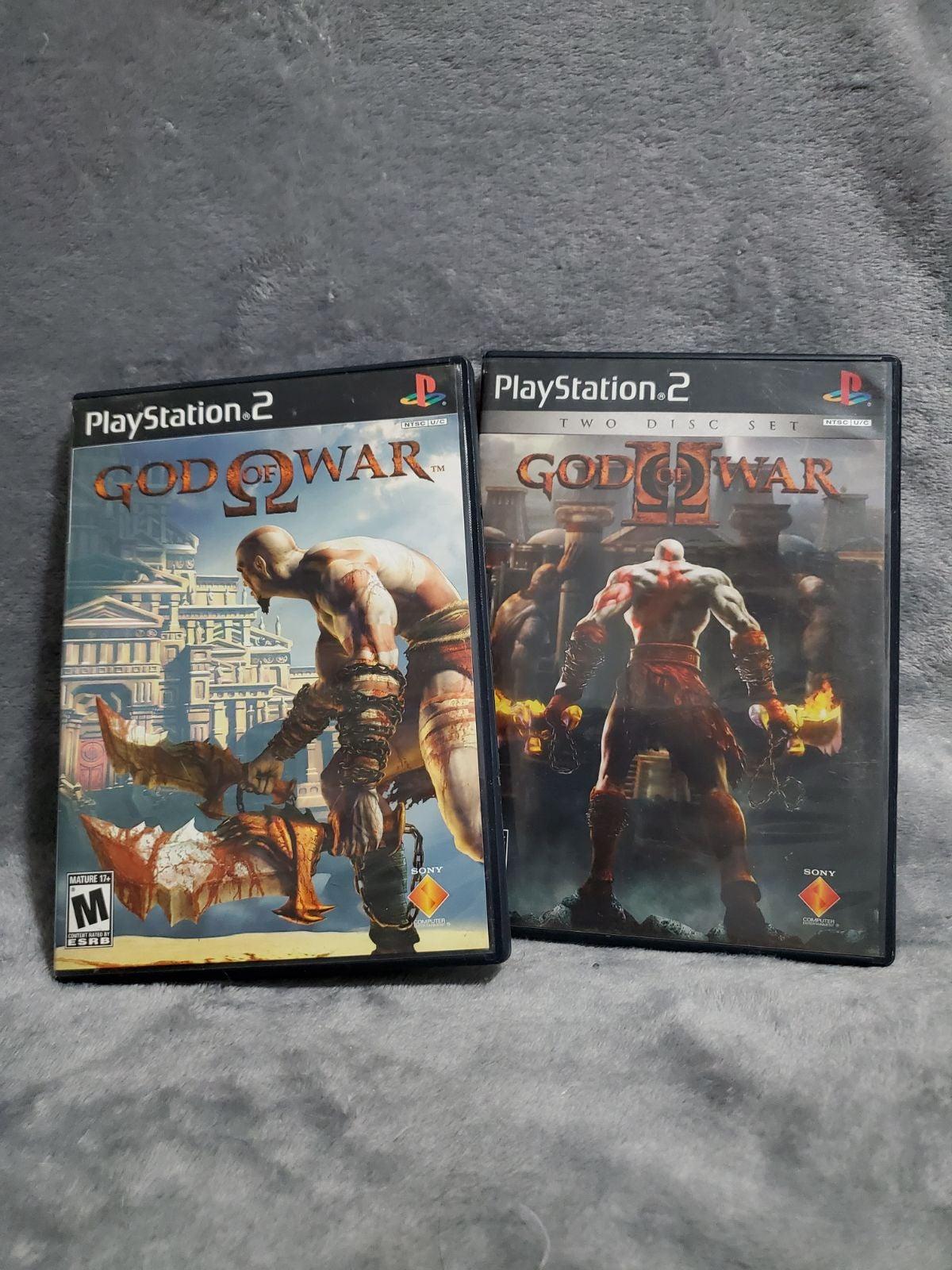 GOD OF WAR PS2 LOT