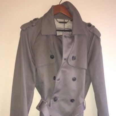 Men's Armani Exchange Trench Coat