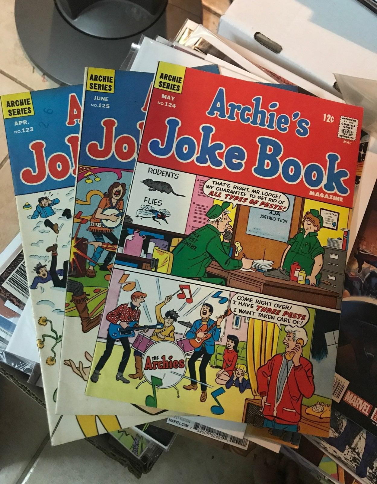 Vintage 1970's Archie Comic Lot