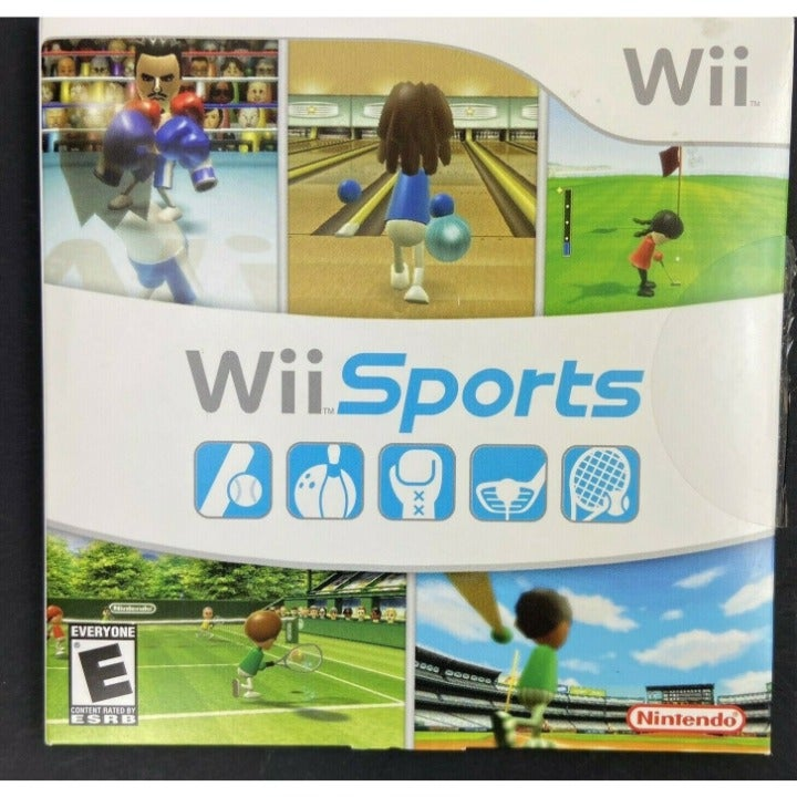 Nintendo Wii Sports 2006 Video Game