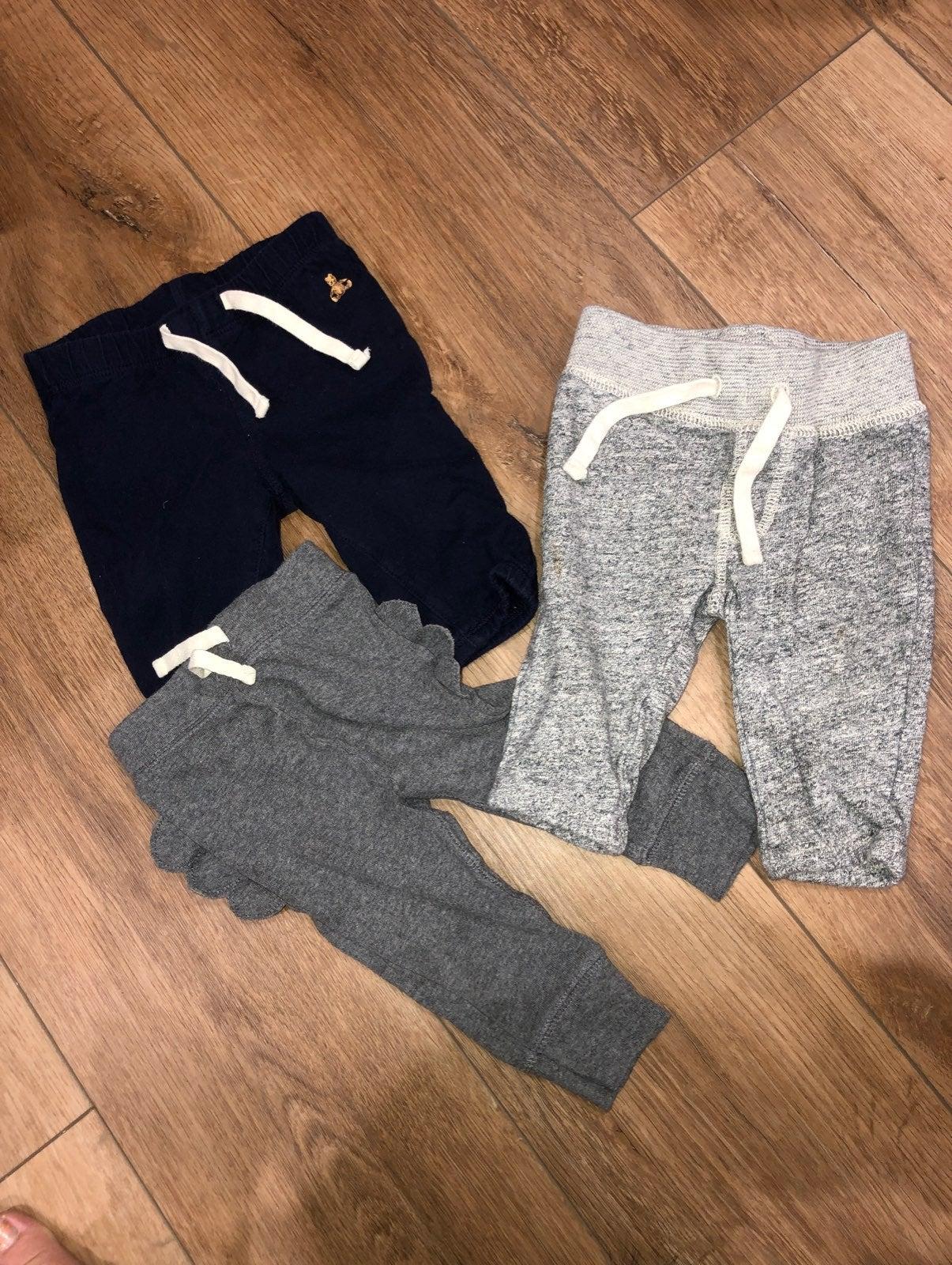 3 pair of Baby boy pants