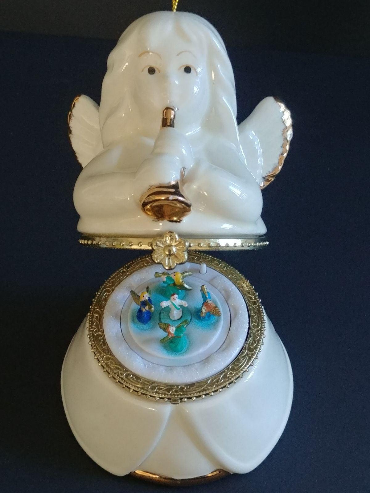 Mr. Christmas Music Angel Ornament