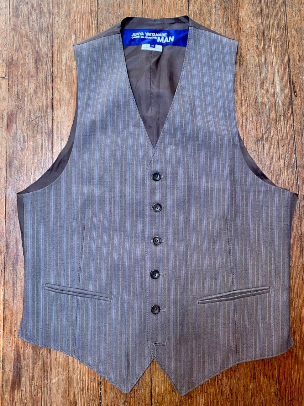 Junya Watanabe tailored Waistcoat in woo