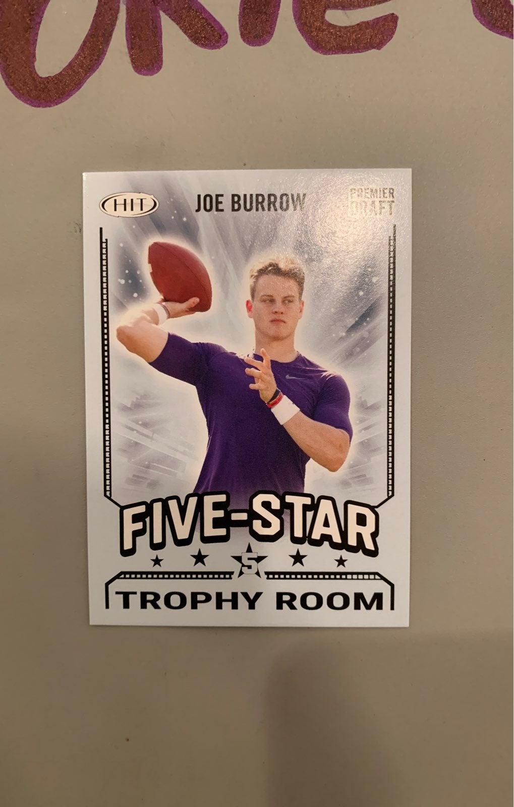 Joe burrow premier draft