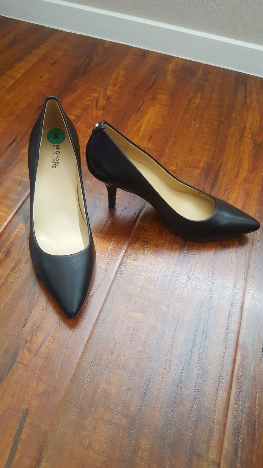 Michael Kors leather pumps