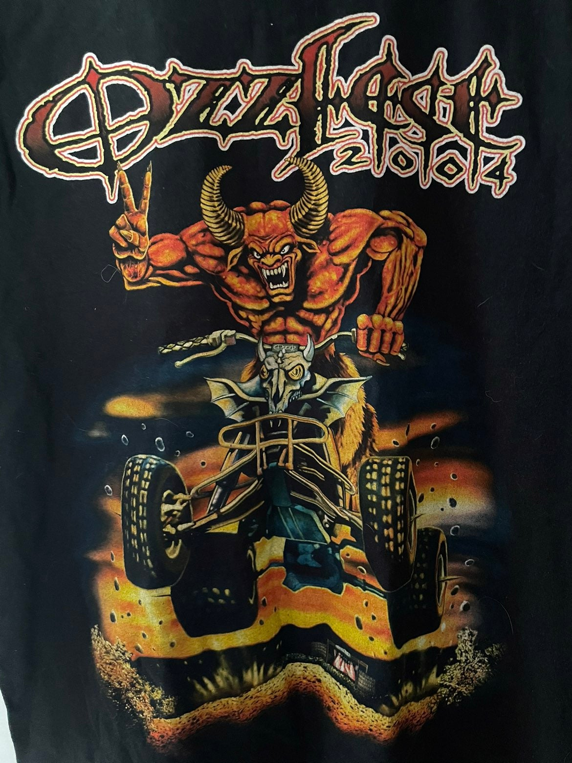 Ozzy fest 2004 collectable T-shirt Mediu