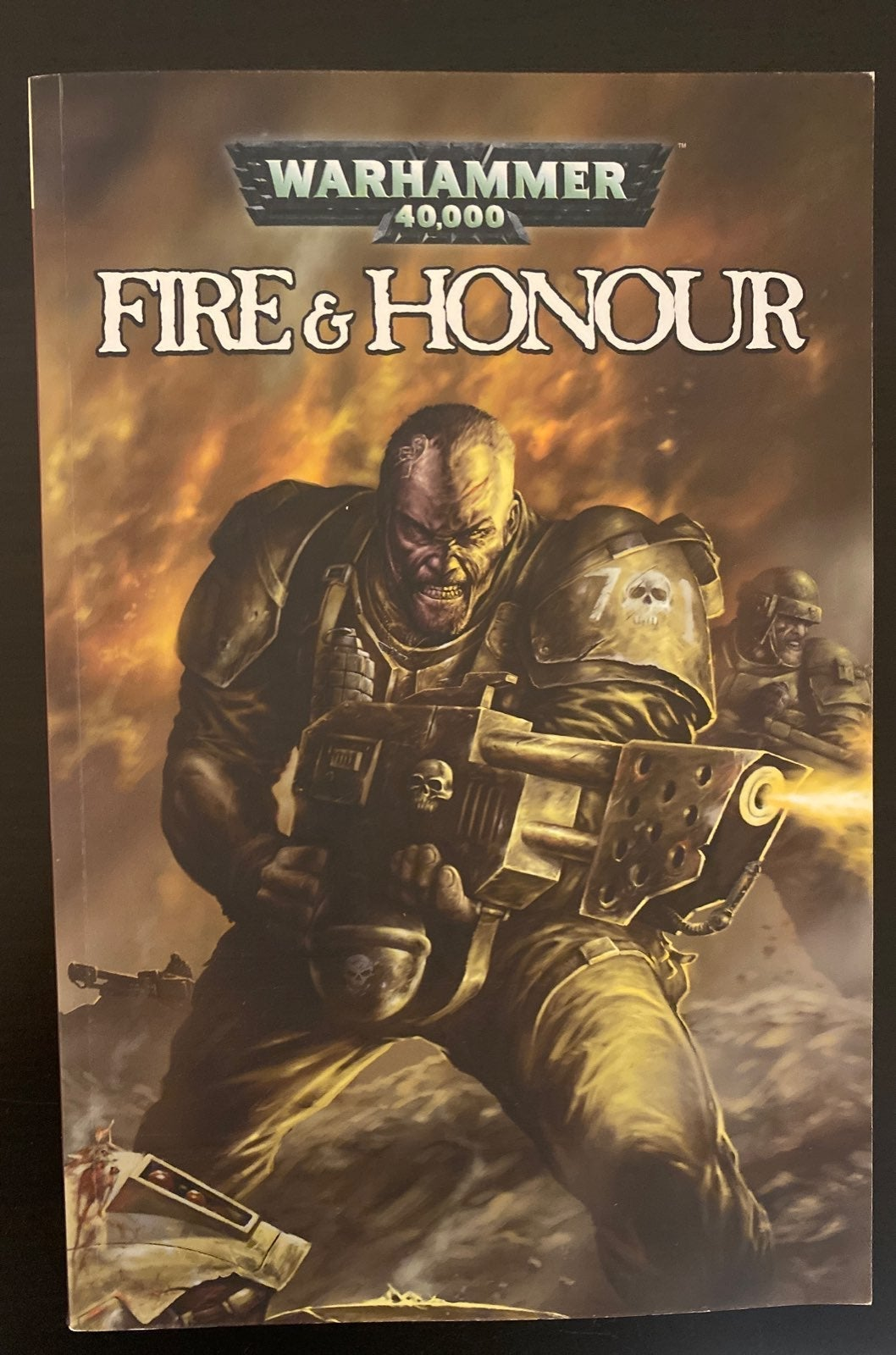 warhammer 40k, Fire and Honor