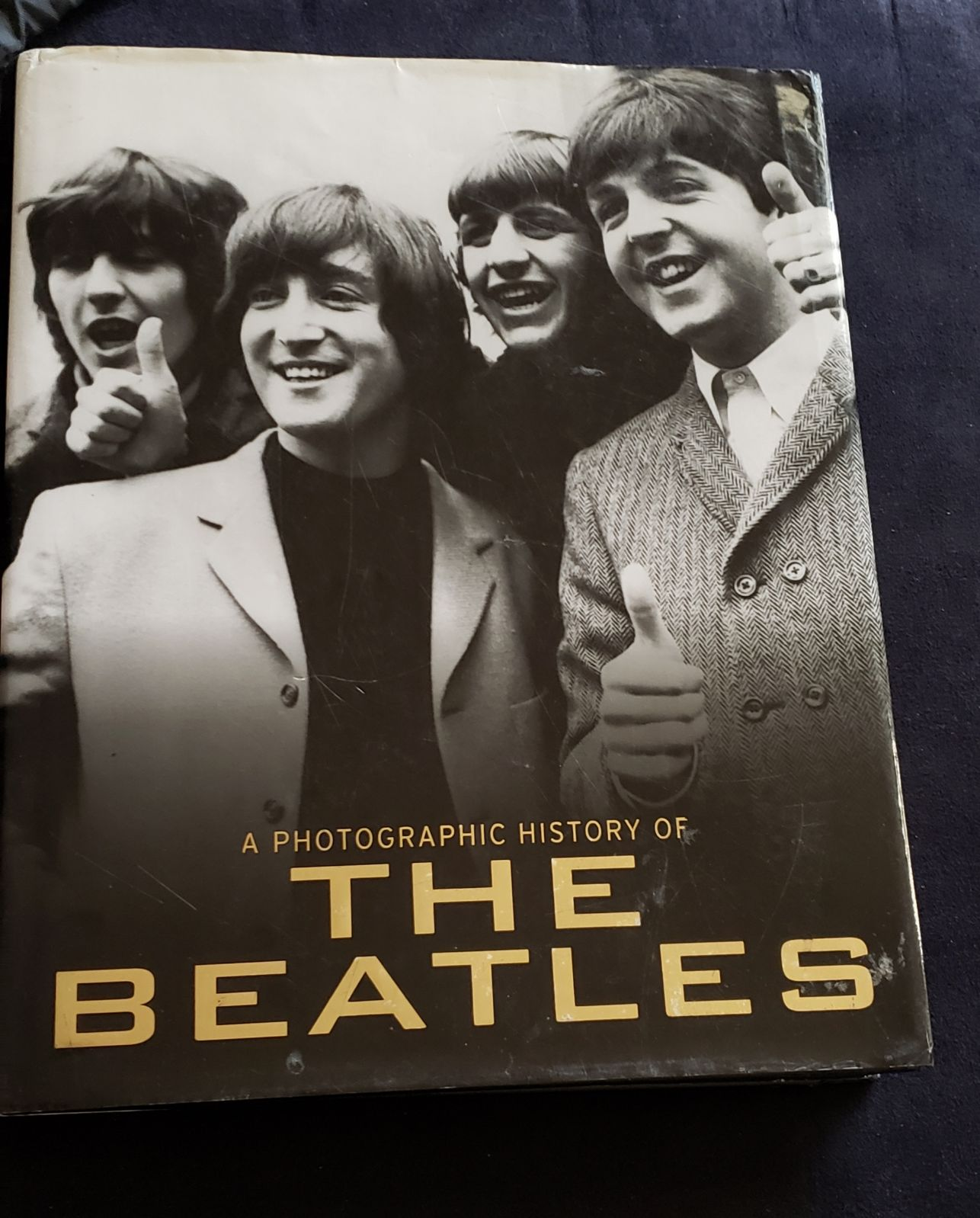 The Beatles Photographic History Book