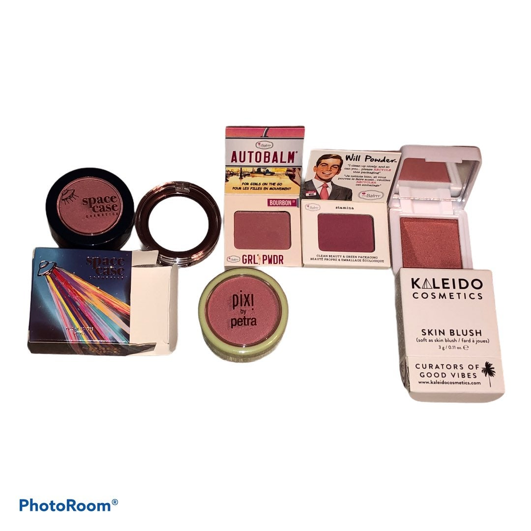 Lot of Six Assorted Blush for Cheeks