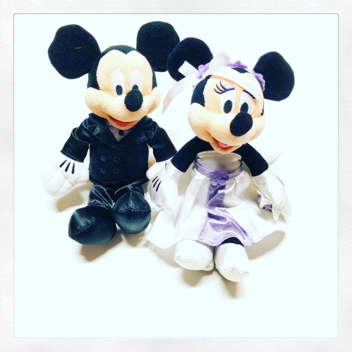 Mickey Mouse / Minnie Mouse Plush Set