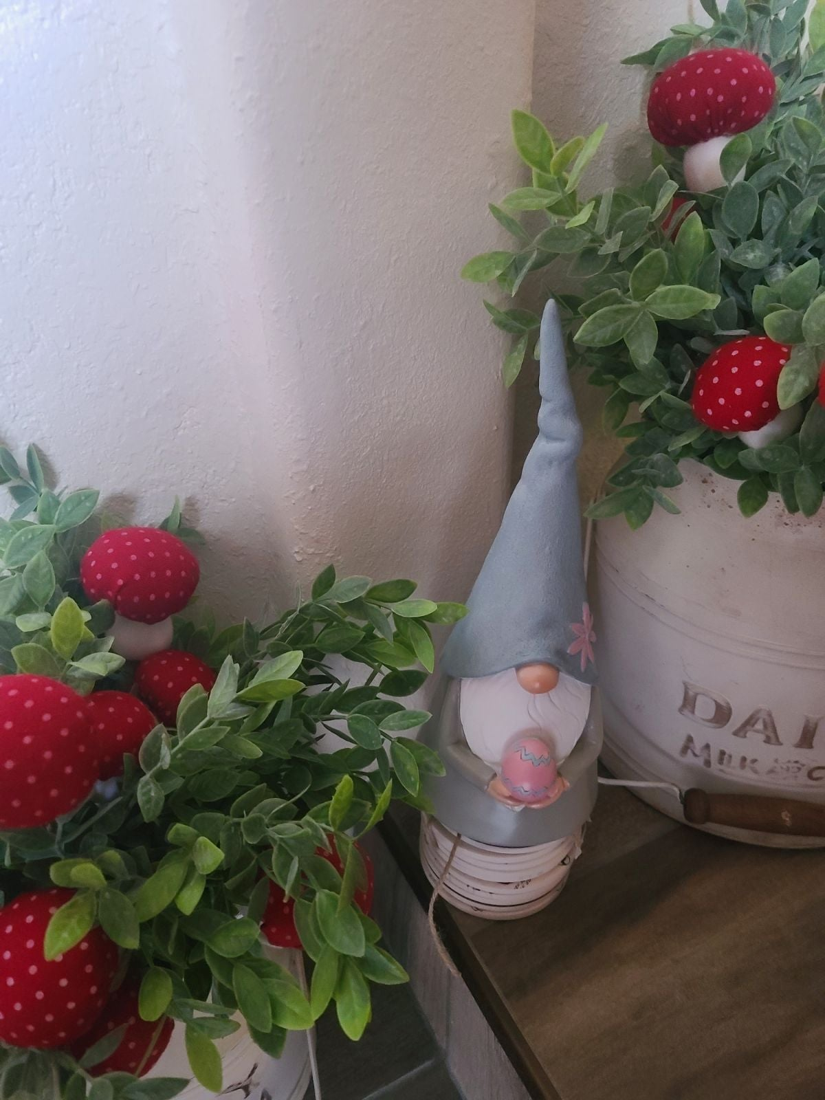 Easter Gnome resin figure