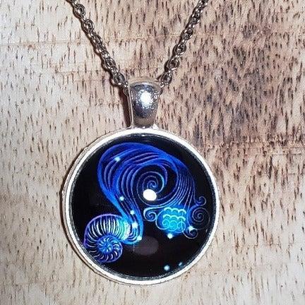 Aquarius Pendant Necklace