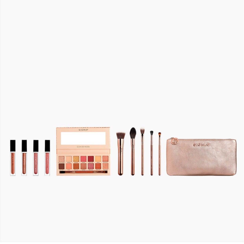 Cor-de-Rosa Complete Makeup Set