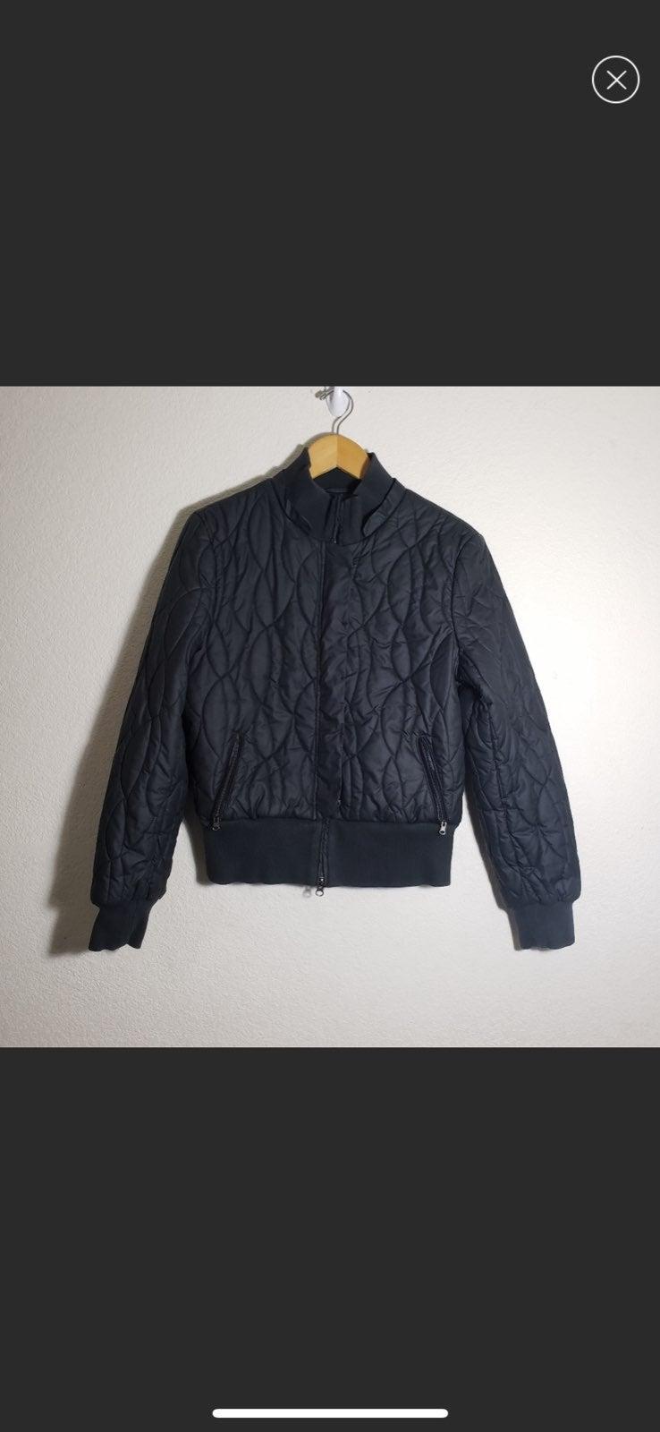 Armani Exchange Bomber Puffer Jacket