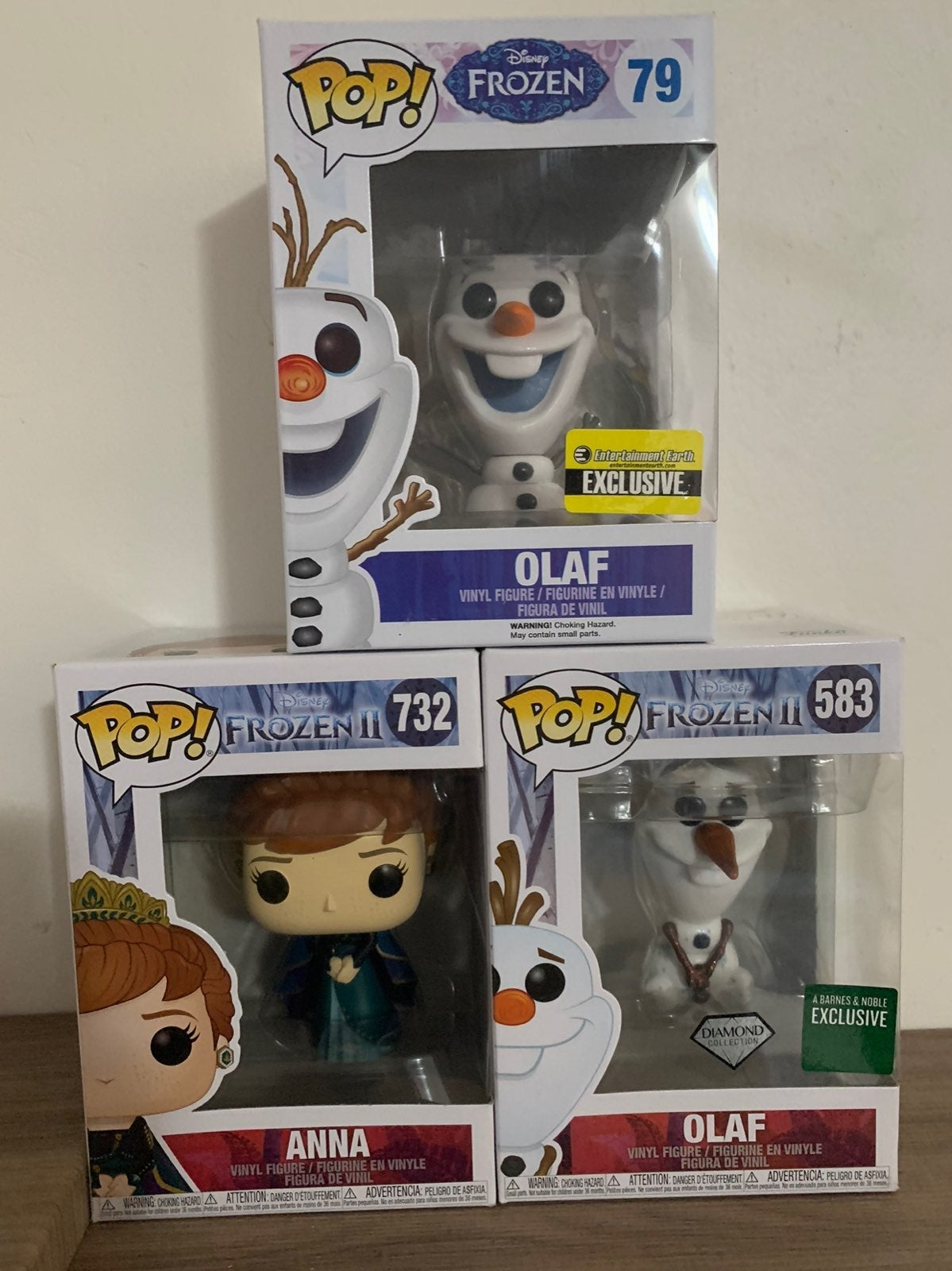 Frozen Funko Pop - Exclusives
