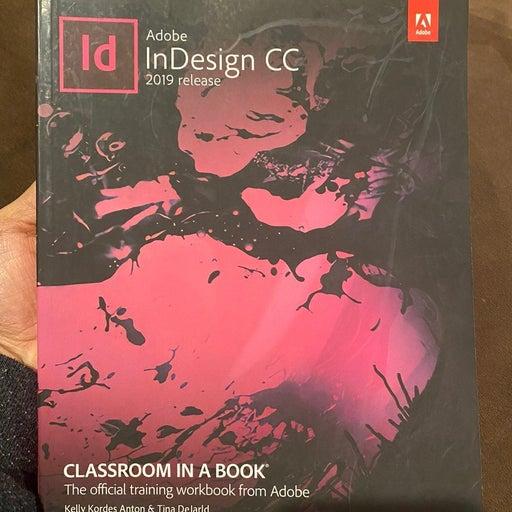 Adobe indesign classroom in a book 2019