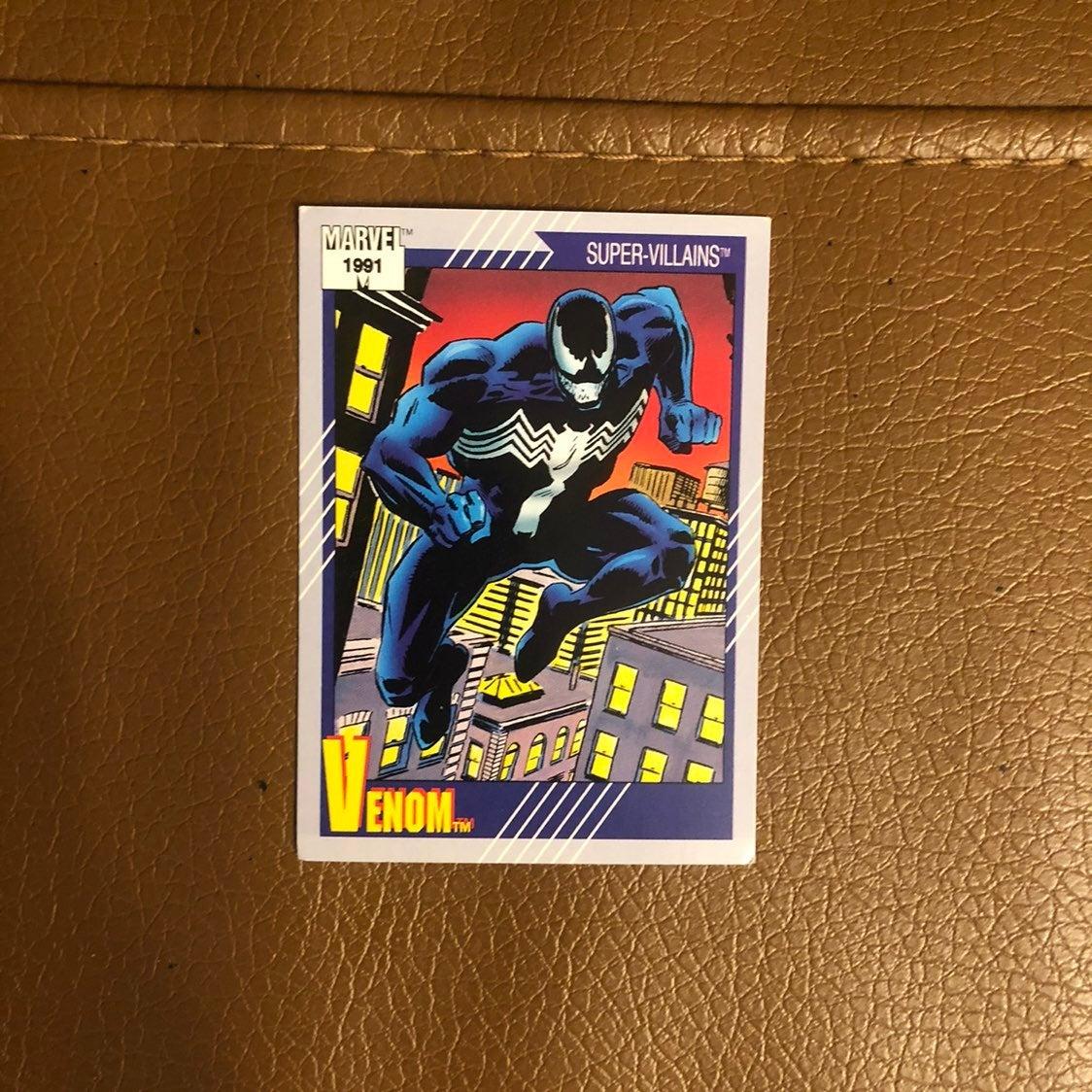 Marvel series 2 1991 Venom card Impel