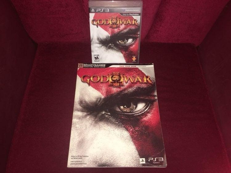 God Of War 3 PS3 Game & Guide Bundle