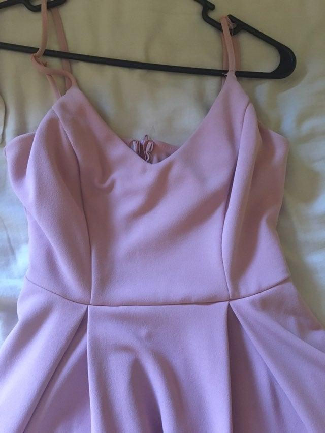 Pink Midi Dress (with pockets!!)
