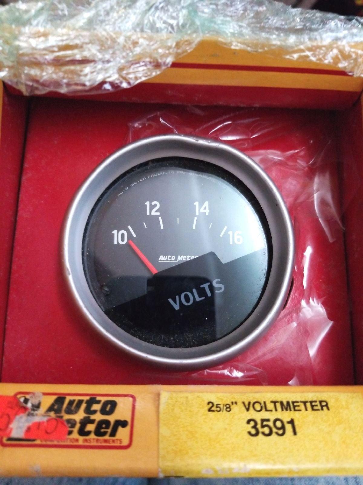 2-5/8 Electrical Voltmeter Gauge 3591