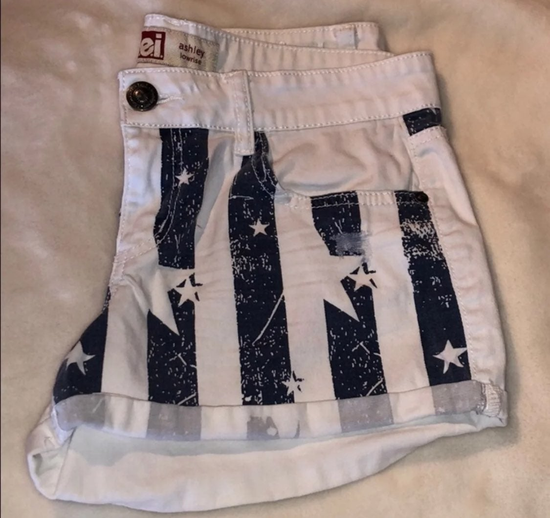 Low Rise 4th of July Shorts