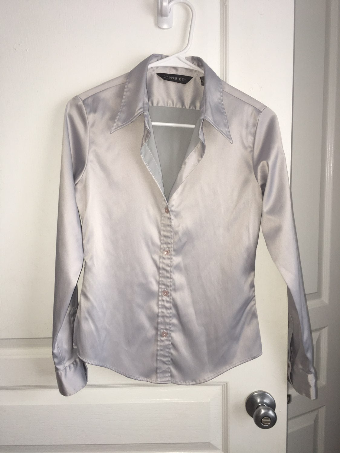 Silver Shirt sz Small