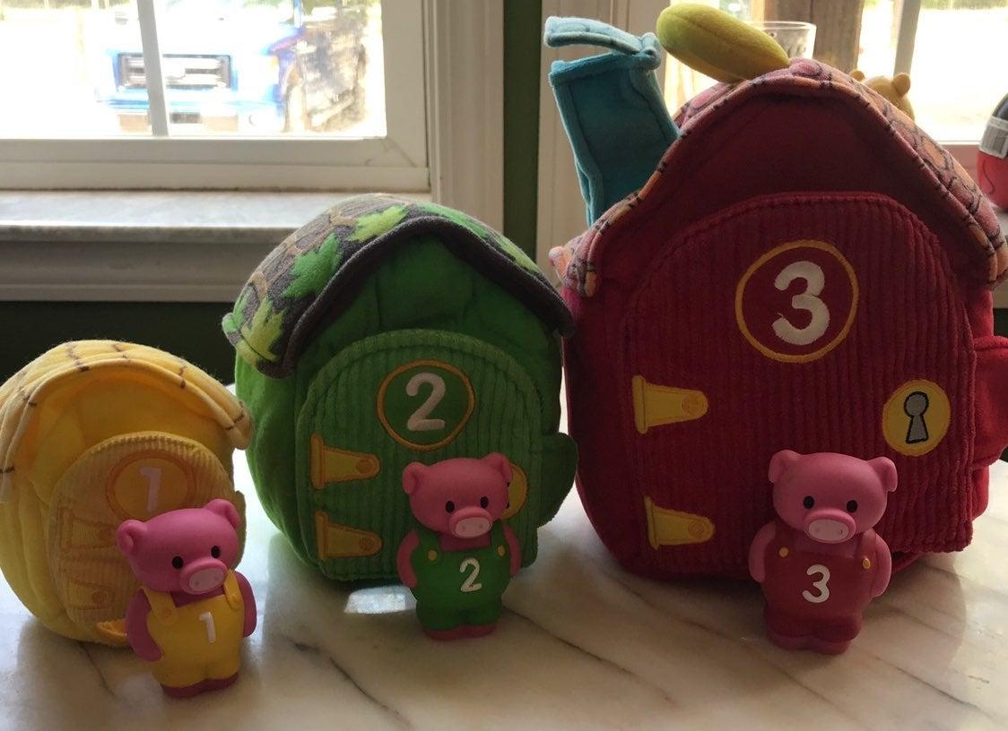 melissa and doug 3 little Pigs