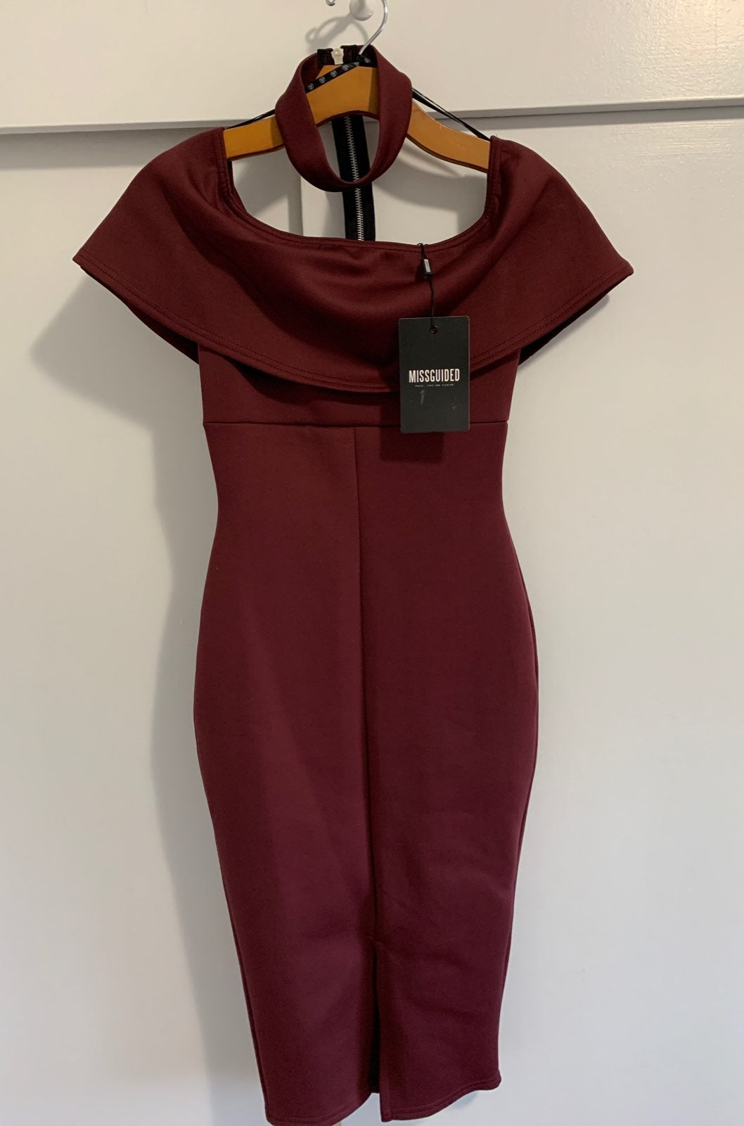 NWT Missguided body con dress