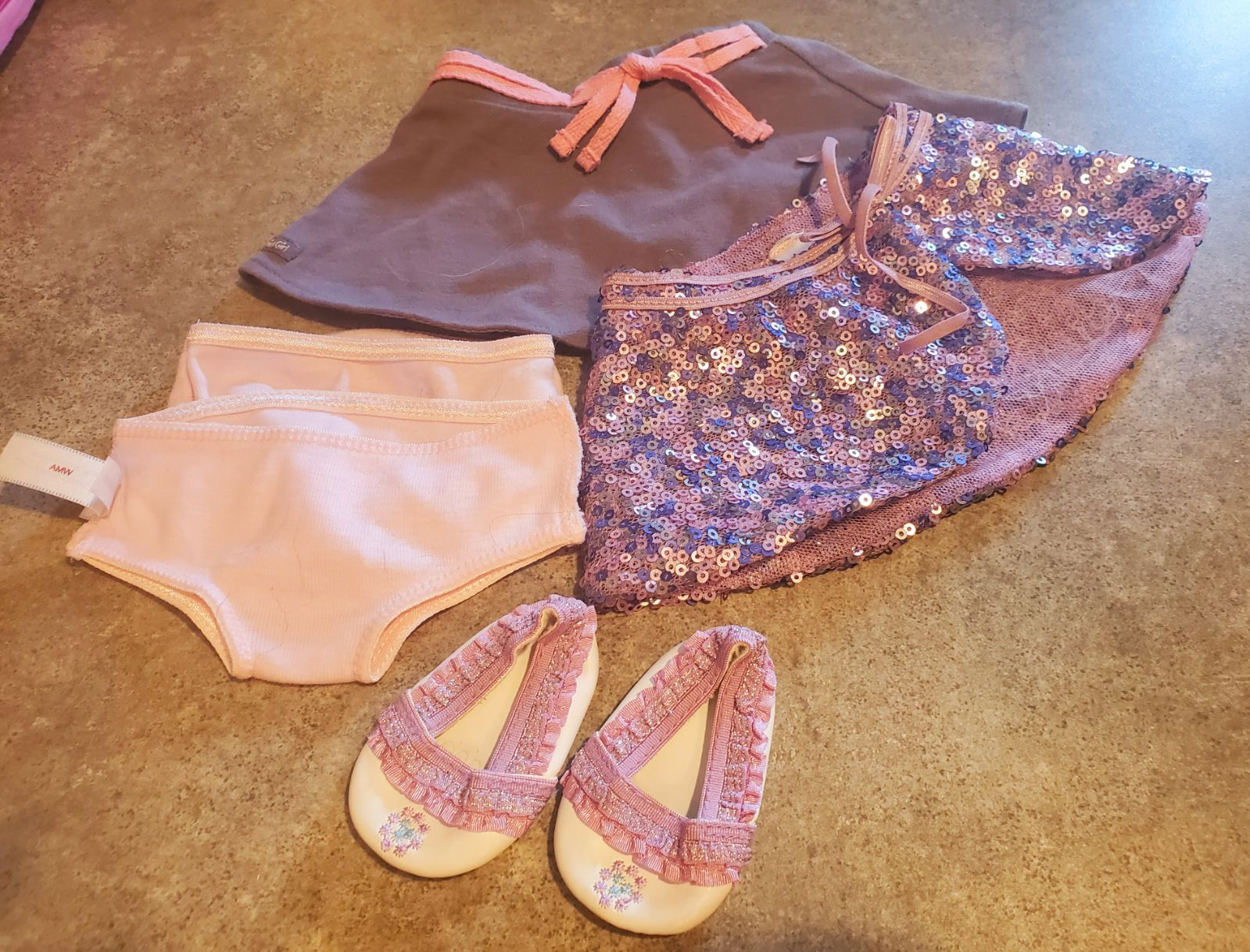 Small Lot of American Girl Doll clothes