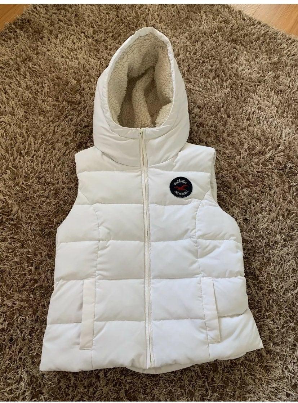 Hollister coat vest