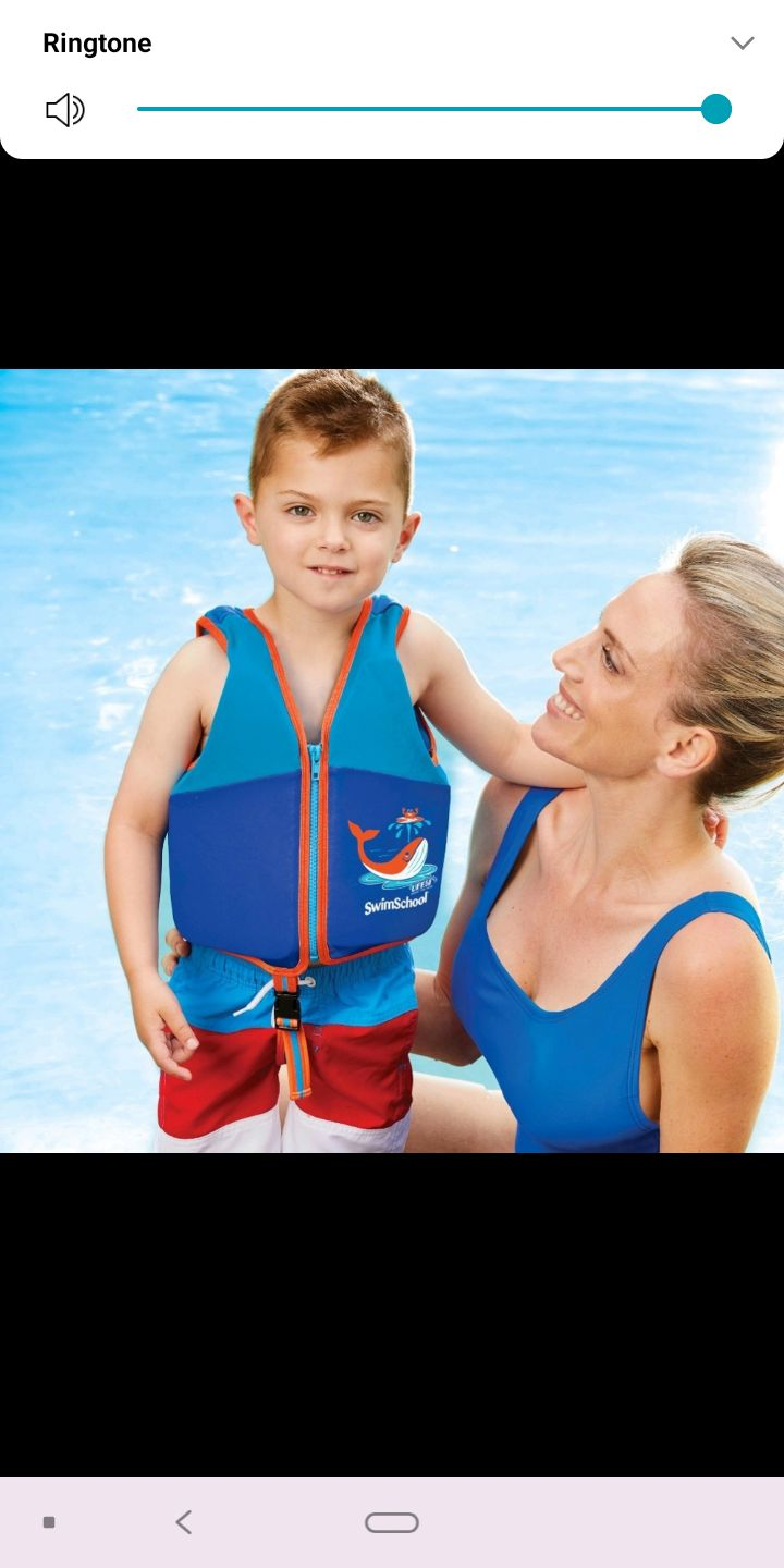 "LEVEL 2  ""SWIM TRAINOR VEST""AGES 4-6YEAR"