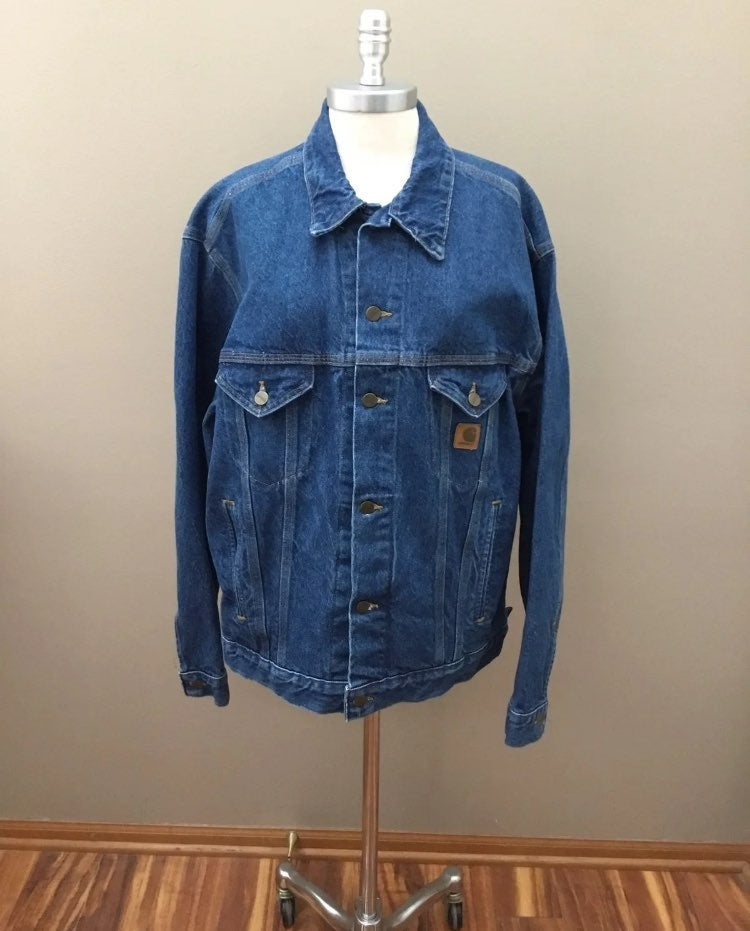 Carhartt Large Jean Denim Jacket
