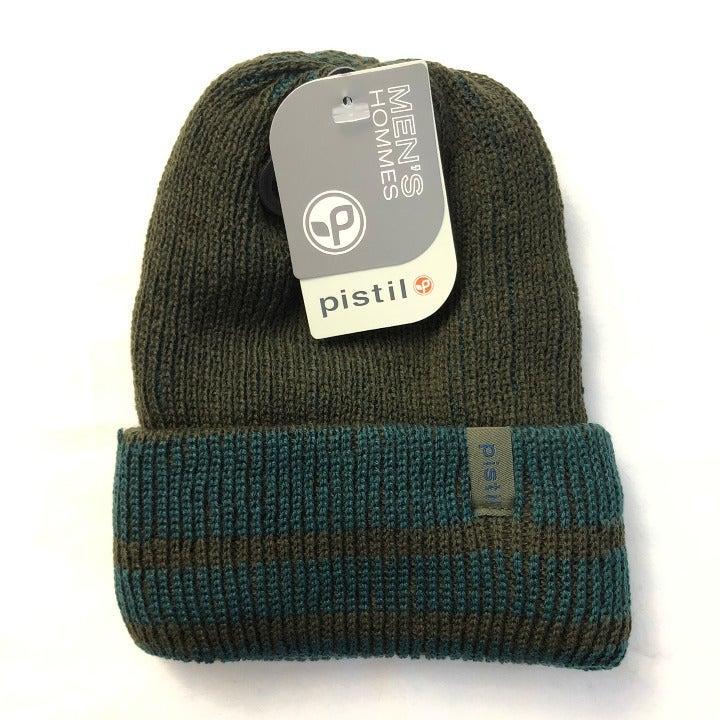 Pistil Mens Pablo Knit Beanie Hat Stripe