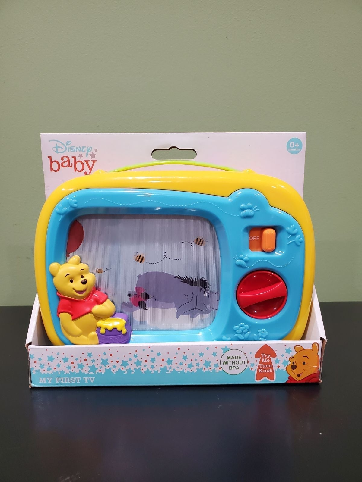 "Disney Winnie The Pooh ""My First Tv"" toy"