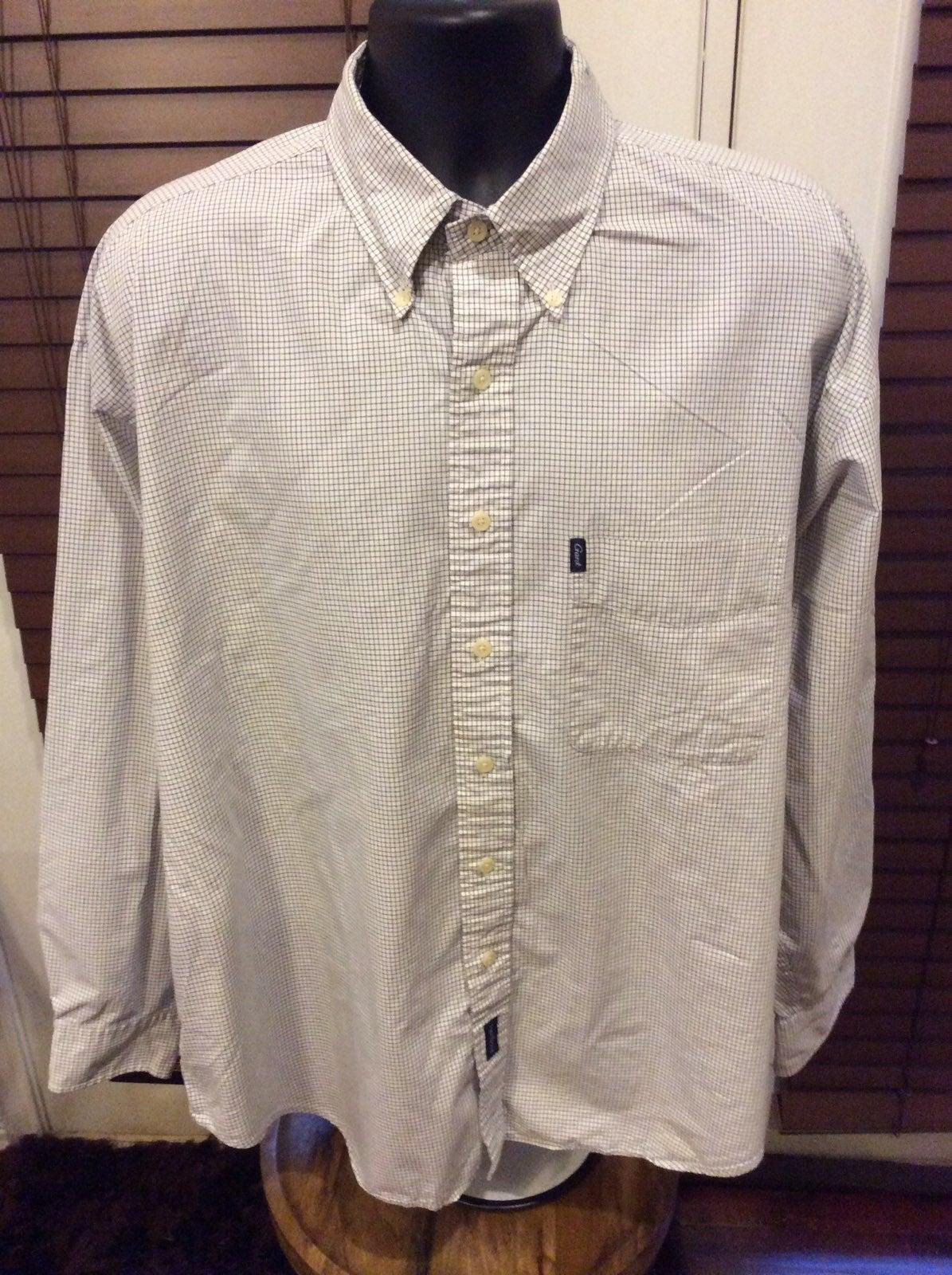 GANT Micro Tartans Men's Button Shirt XL