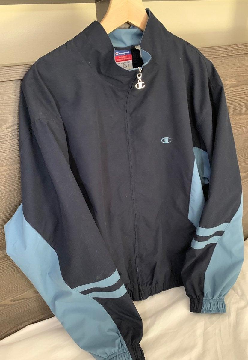 Mens Vintage Champions Jacket