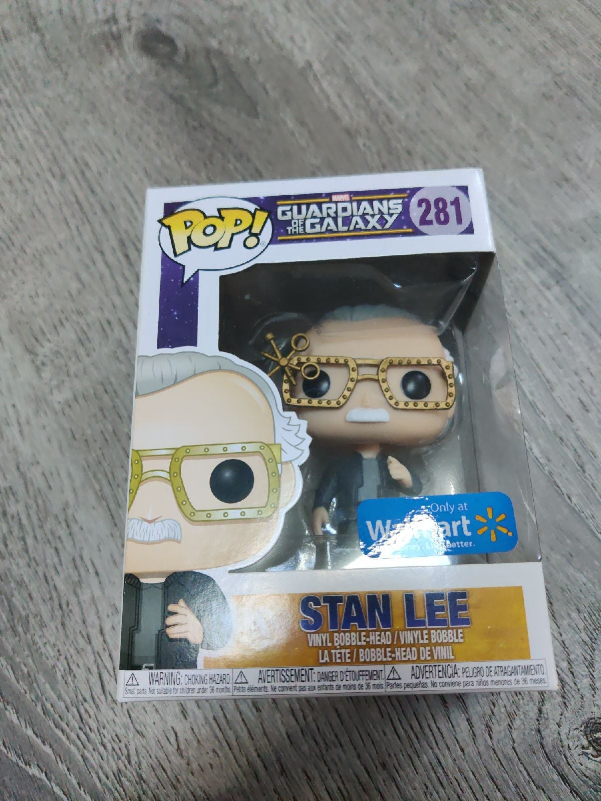 Stan Lee Funko Pop Walmart Exclusive