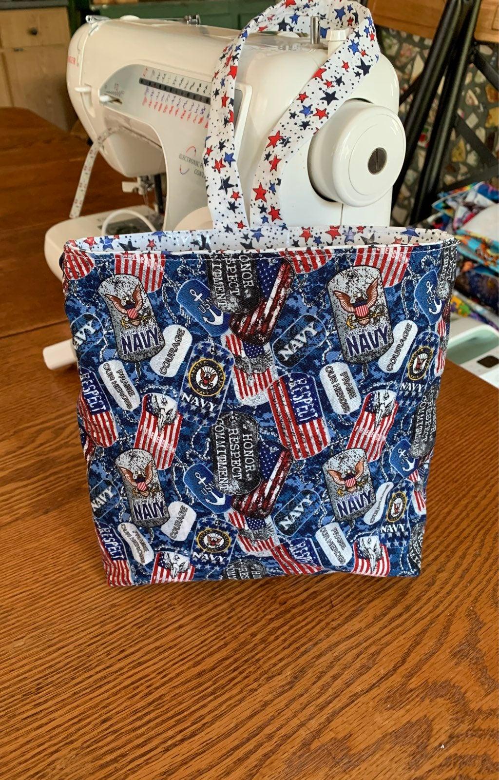 Handmade US Navy Car Trash bag