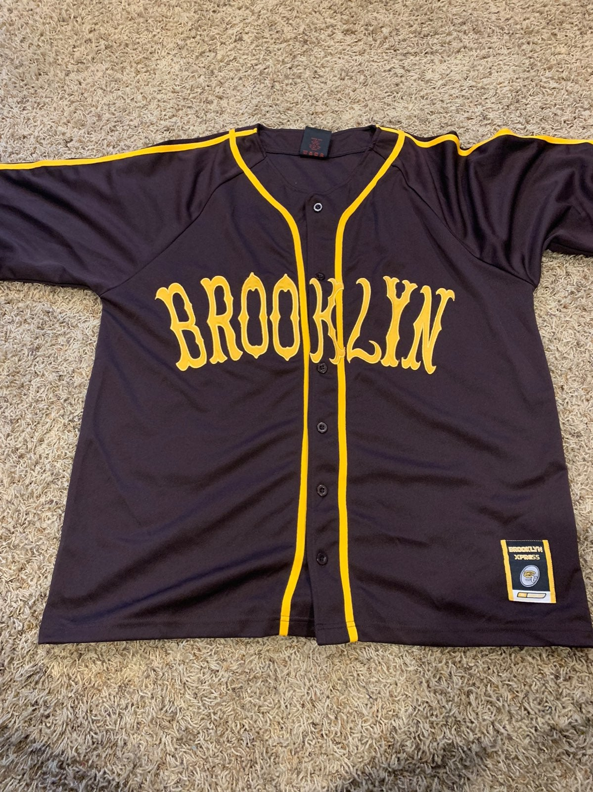 Vintage Brooklyn Express Baseball Jersey