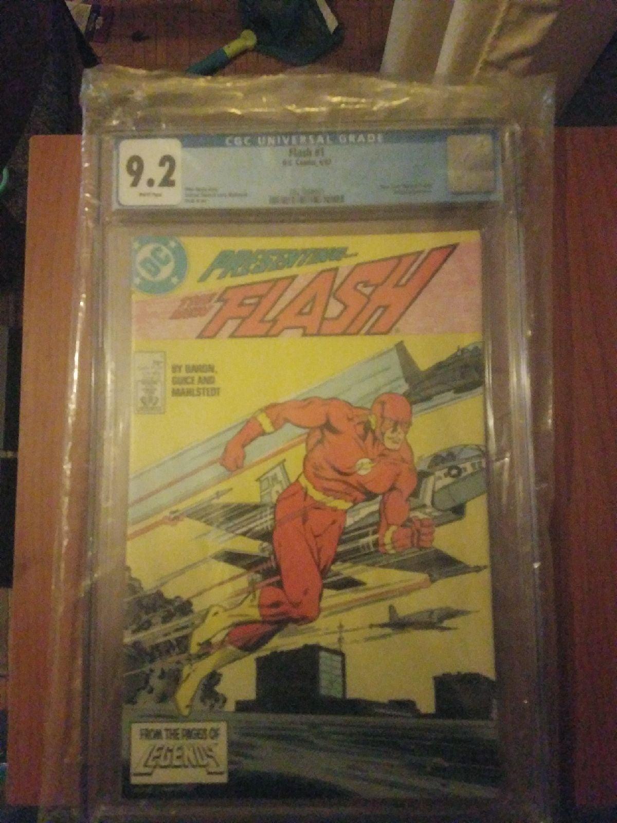 CGC Flash, issue #1. 1987