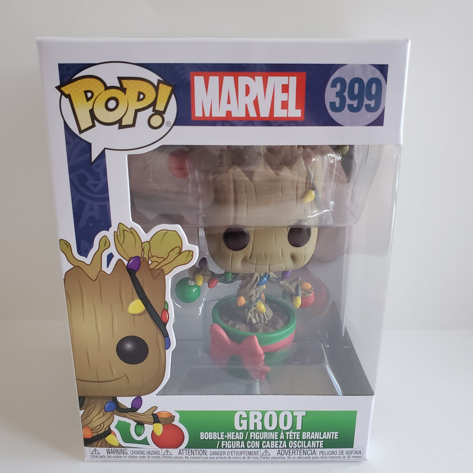 POP! Marvel Christmas Groot