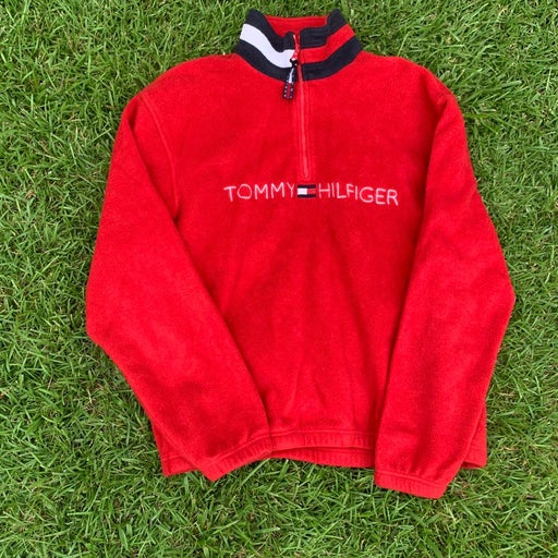 Tommy Hilfiger Fleece Spellout Pullover