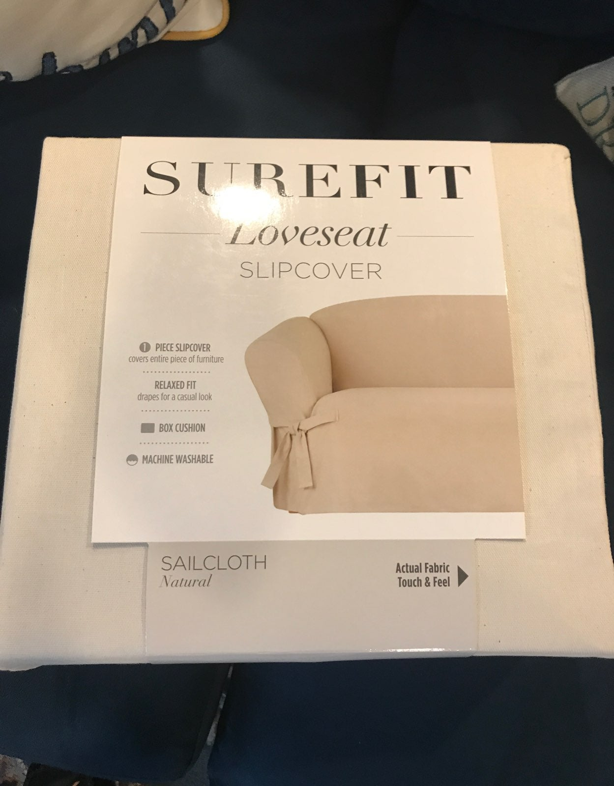 Loveseat slipcover