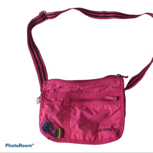 Old Navy girls shoulder bag. Pink.