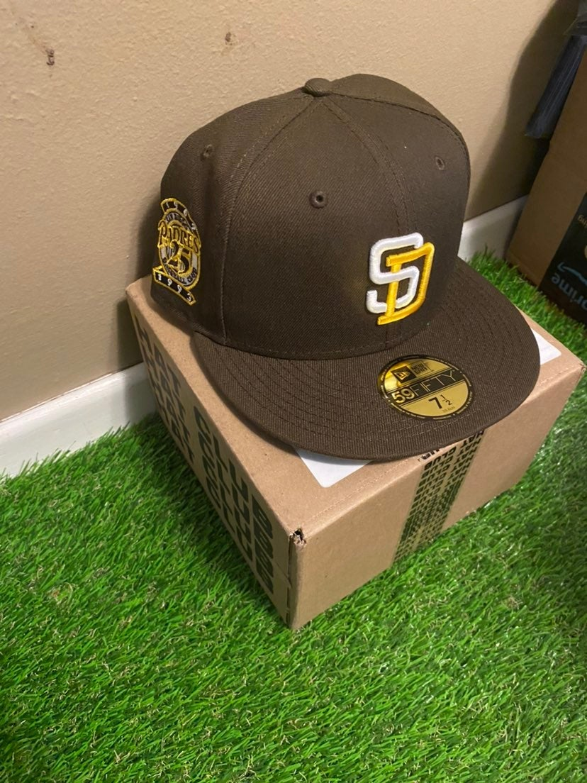 Fifty San Diego Padres 25th Fitted New