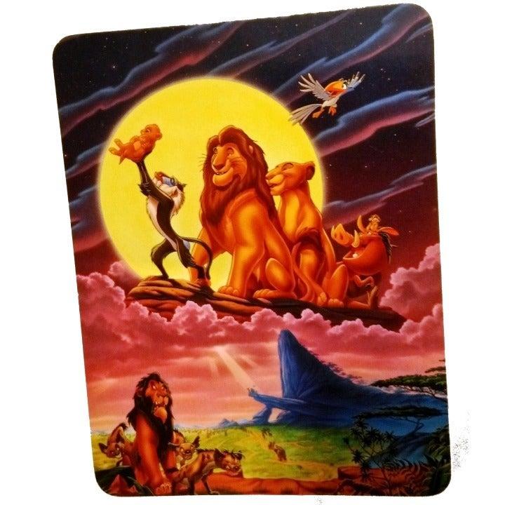 Vintage Disney Lion King Postcard