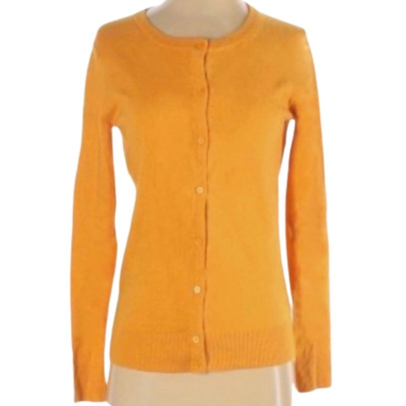 a new day Gold Cardigan Button Down