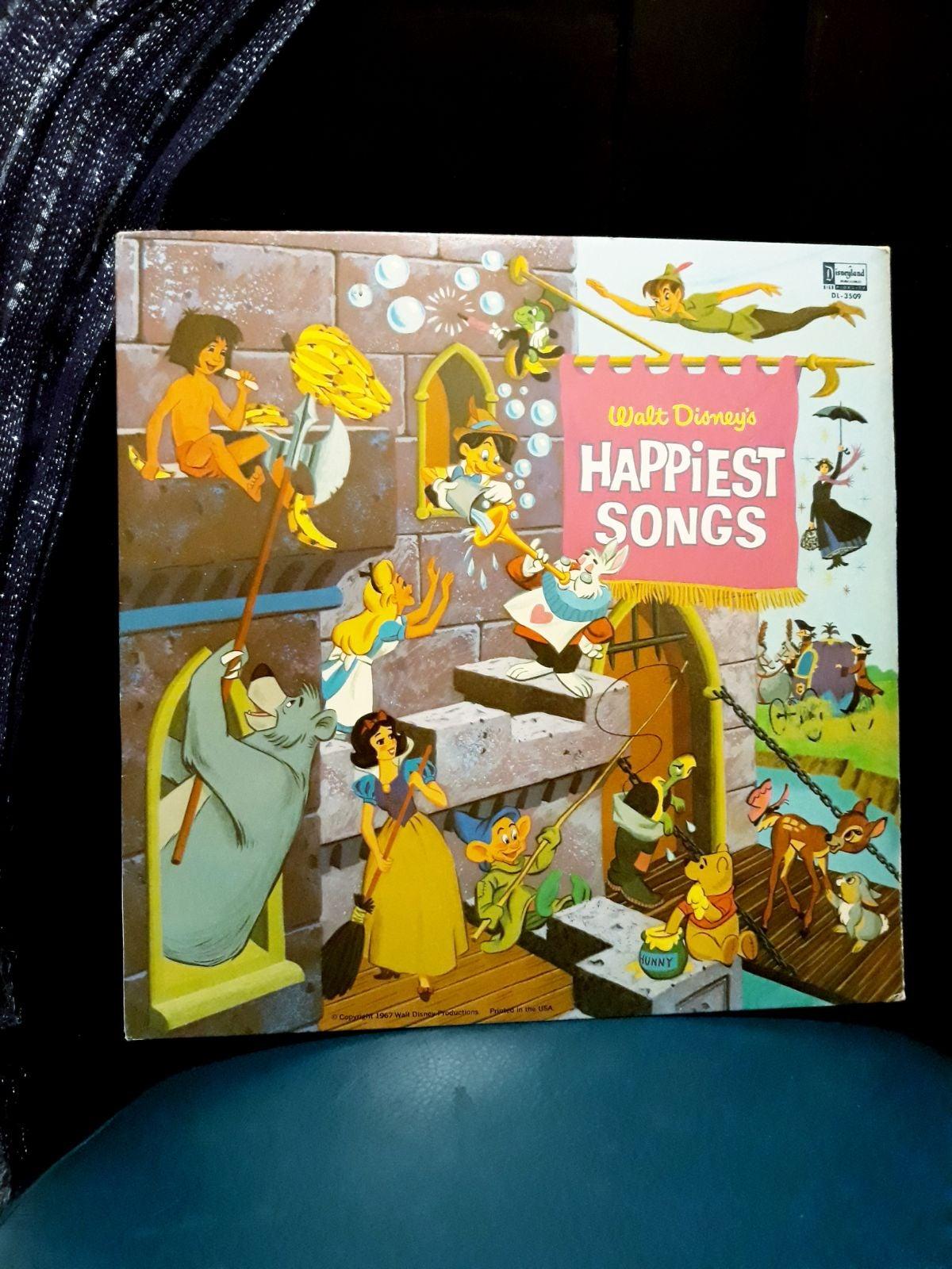 Disneyland Record Happiest Songs